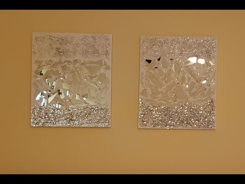diy-mosaic-wall-art;-pier-one-inspired