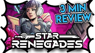 Star Renegades Review (3 MIN) (Video Game Video Review)