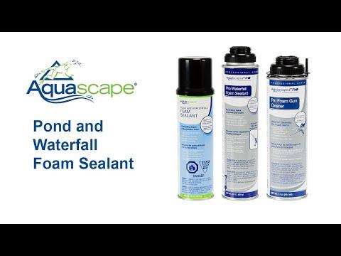 Pond And Waterfall Foam Sealant