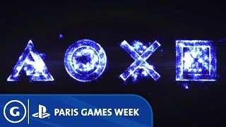 Paris Games Week Opening Montage - Sony Press Conference