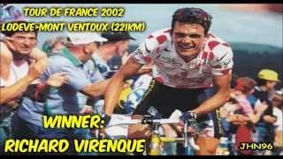 #MontVentoux History - Tour de France (