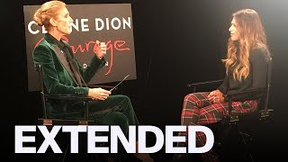 Celine Dion On Her Upcoming 'Courage' World Tour | EXTENDED