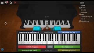(Roblox Virtual Piano) Ruth B Lost Boy /Cover