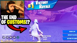 this fortnite glitch will end customs forever...