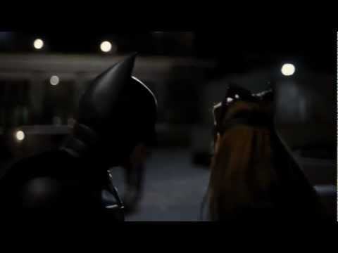 The Dark Knight Rises - Batman and Catwoman Rooftop Fight[HD]