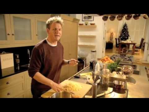 Gordon Ramsay - Swede and cardamom soup