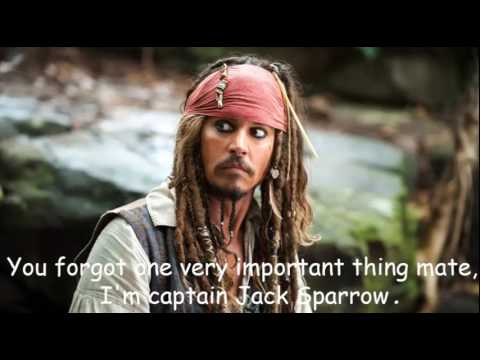 Pirates Of The Caribbean Quotes | Pirates Of Caribbean Quote Video Youtube