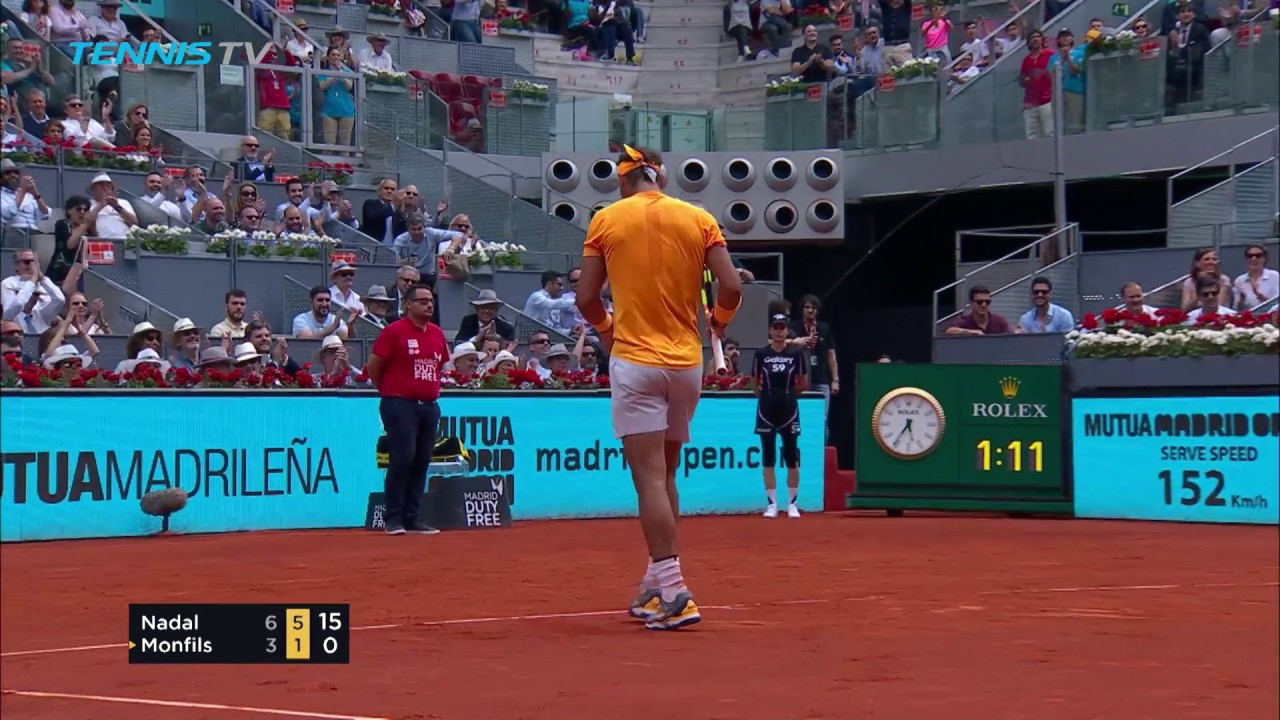 new high quality high quality closer at Best Shots & Rallies   Mutua Madrid Open 2018 Day 4