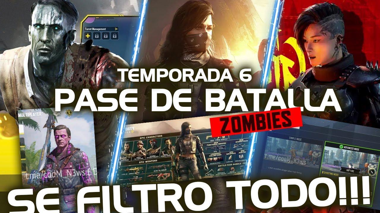 INCREIBLE TEMPORADA 6!, TE CUENTO TODO SOBRE ELLA Y LOS ZOMBIES! | Call of Duty Mobile