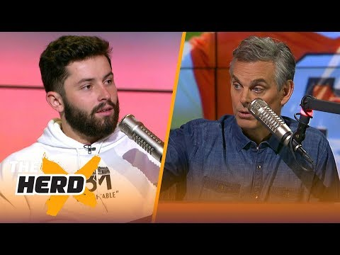 Baker Mayfield's full  with Colin Cowherd  NFL  THE HERD