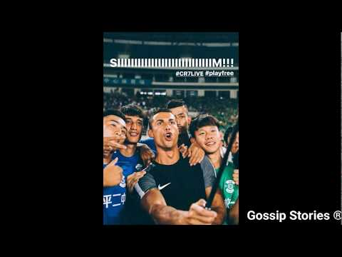 Cristiano Ronaldo in Shanghai