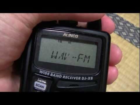 広帯域受信機 DJ-X8の使い方講座~基本編その8~受信モードの切り替え