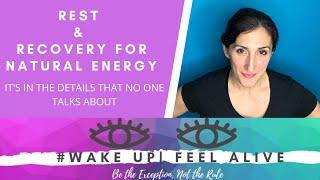 Rebuild & Repair for Natural Energy #WakeupFeel Alive