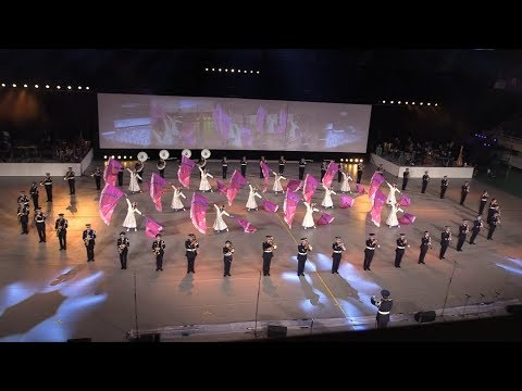JASDF Central Band at JSDF Marching Festival 2017