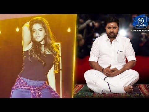 Tamizh Padam 2.0   Mass Song Evada Unna Petha Review I Shiva I Iswarya Menon