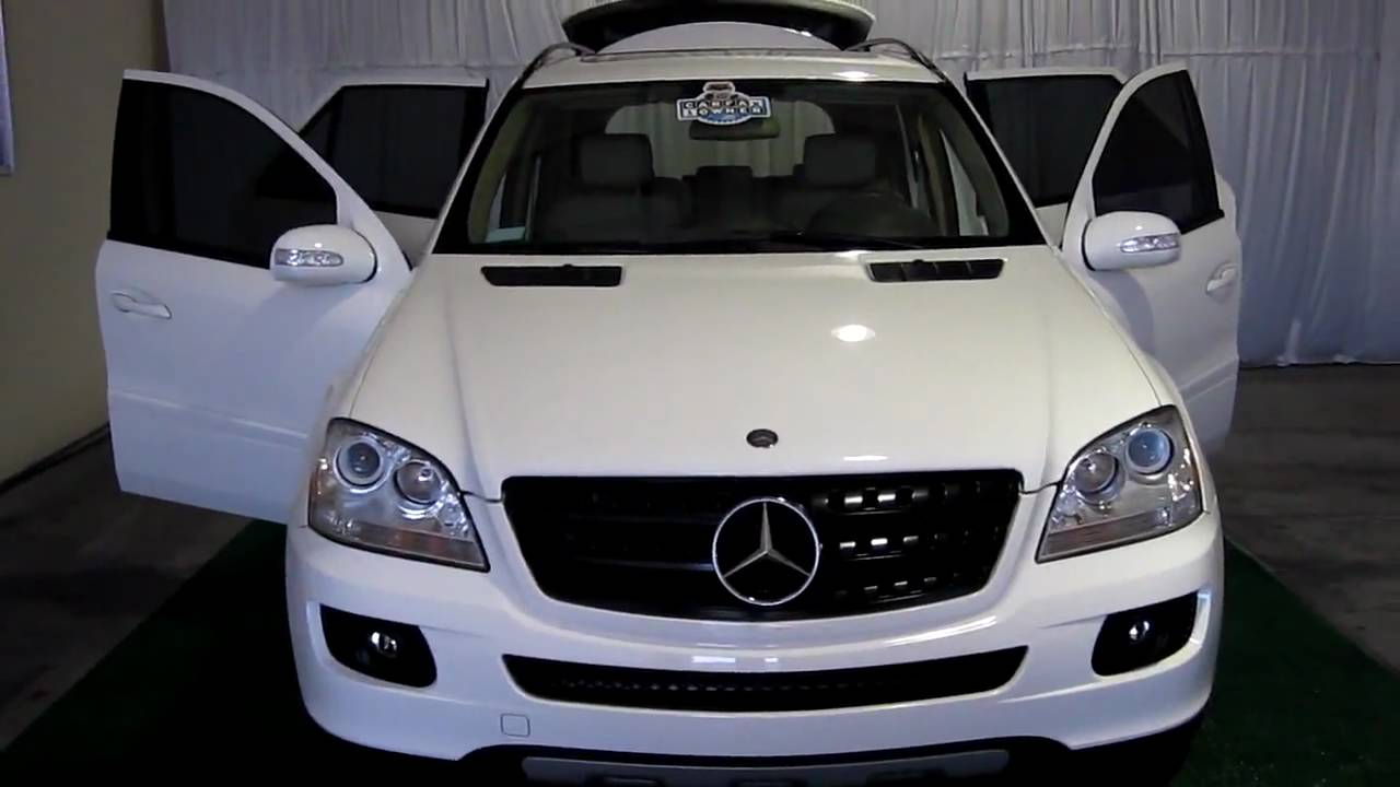 Sold 2006 mercedes benz ml350 828 for Mercedes benz ml350 accessories