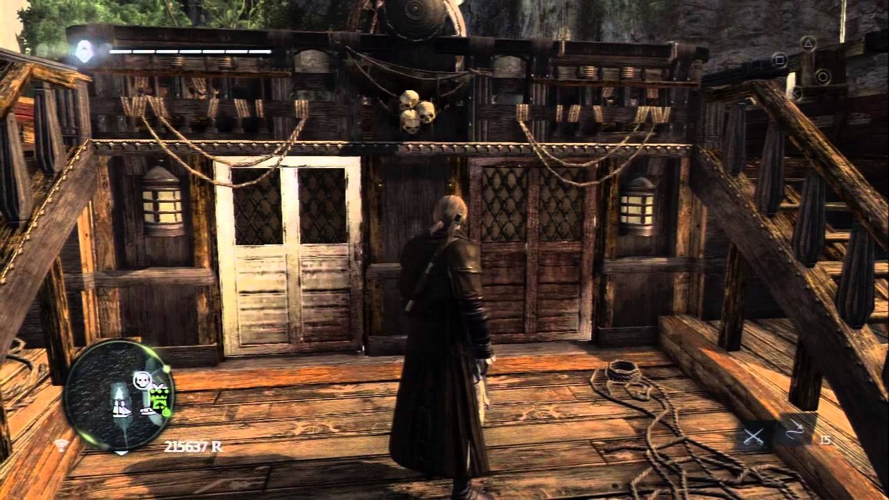 Assassins Creed 4 Black Flag Brown Cloak Outfit Youtube