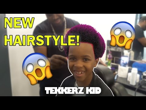 Omg My New Hairstyle Barbers Vlog Tekkerz Kid Youtube