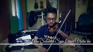 """Belajar Lagu Judika """"Jadi Aku Sebentar Saja"""" Cover Violin Zeta Ku"""