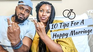 Best Marriage Advice Ever: 10 Tips for a Healthy Happy Marriage 2019