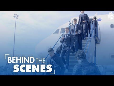 PSG vs Real Madrid: Arrival in Paris