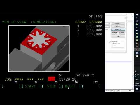 CNC|Matlab| Winnc| Program