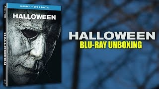 Halloween (2018) - Blu-ray Unboxing (Blu-Ray + DVD + Digital)