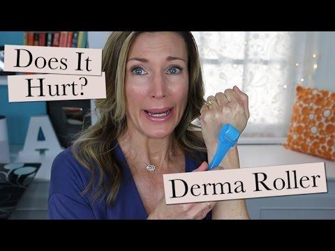 Derma Roller 1st Use | Does It Hurt?
