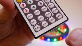 Краткий обзор светодиодной ленты RGB 3528 c Aliexpress
