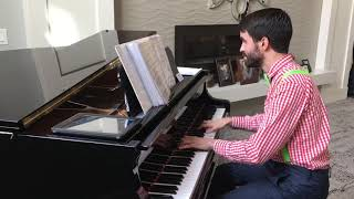 "John plays ""Baby, It's Cold Outside"" (arr. by Phillip Keveren)"