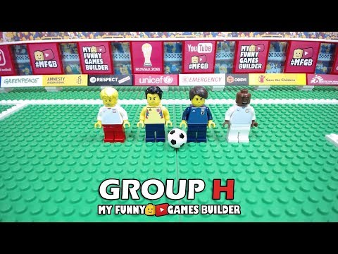 World Cup 2018 GROUP H • Poland • Senegal • Colombia • Japan • preview 🏆 Russia 2018 in Lego