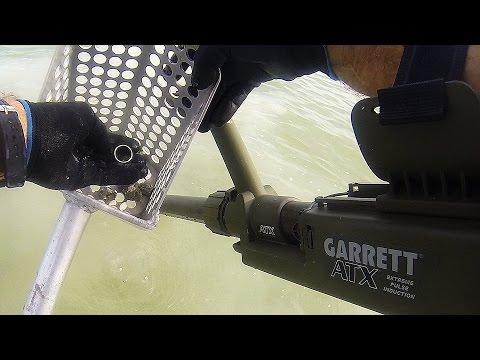 Garrett ATX - on Key Biscayne finds gold & diamonds