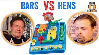 One of Barshens's most viewed videos: Bars vs Hens #1 - Screwball Scramble | Barshens