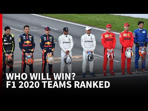 Who Will Win The Season? - Top 5 F1 2020 Teams Ranked