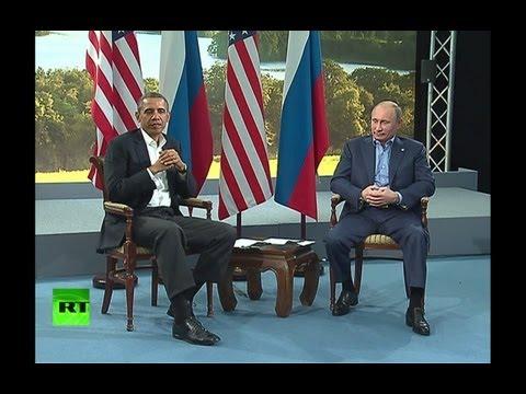 Путин после встречи с Обамой: Можно двигаться вперед по чувствительным направлениям