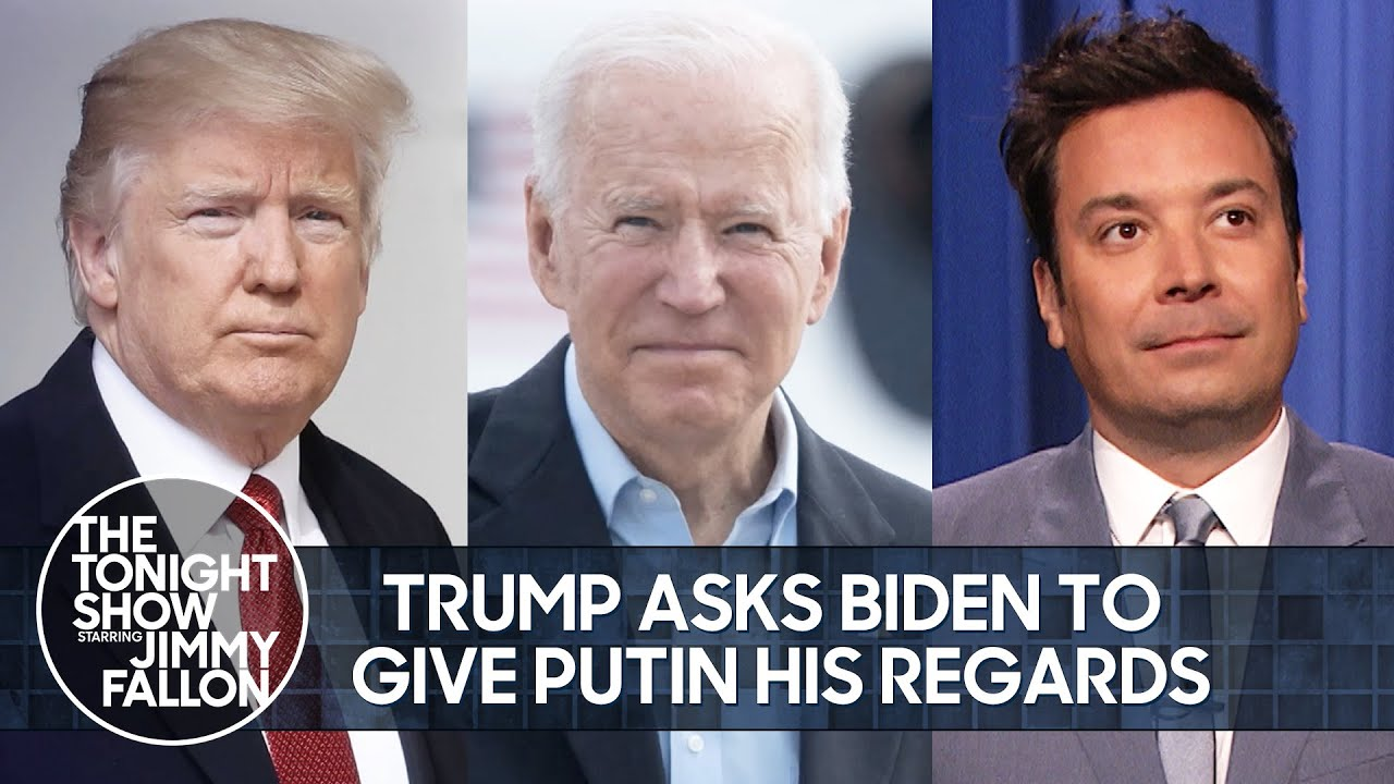 Download Trump Asks Biden to Give Putin His Regards, Kardashians Series Finale   The Tonight Show