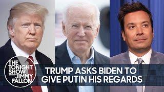 Трамп просит Байдена передать Путину привет, финал сериала