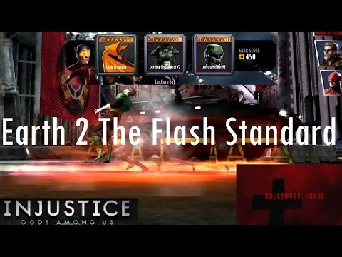 Injustice Gods Among Us iOS - Earth 2 The Flash Challenge Standard Difficulty