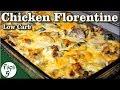 Chicken Florentine Alfredo Casserole – A Very Easy Low Carb Keto Recipe