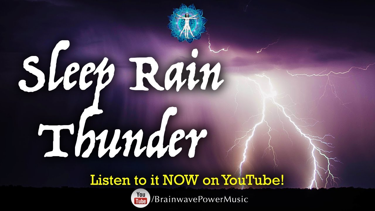amazing 8 hours of rain and thunder rain thunder sounds for