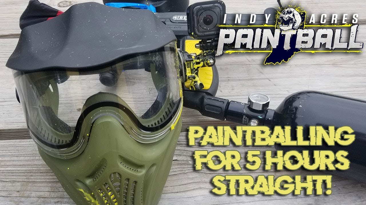 7 paintball hours