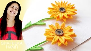 How to make paper quilling 3d greeting cards