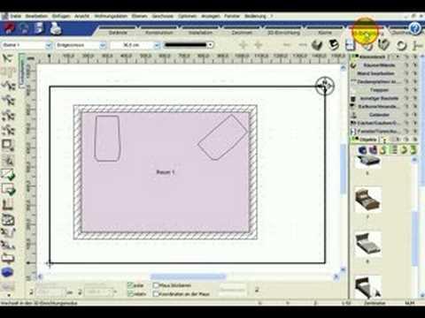 konstruktionsmodus 3d objekte 3d traumhaus designer engin youtube. Black Bedroom Furniture Sets. Home Design Ideas