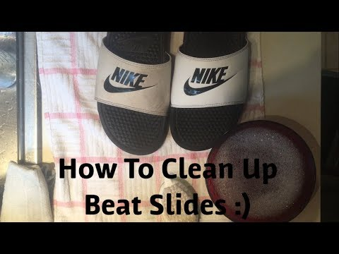 HOW TO CLEAN UP BEAT/DIRTY SLIDES