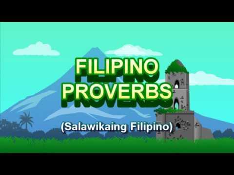 Filipino Proverbs (Salawikain)