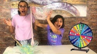 Mystery Wheel of DUMP IT Slime Challenge