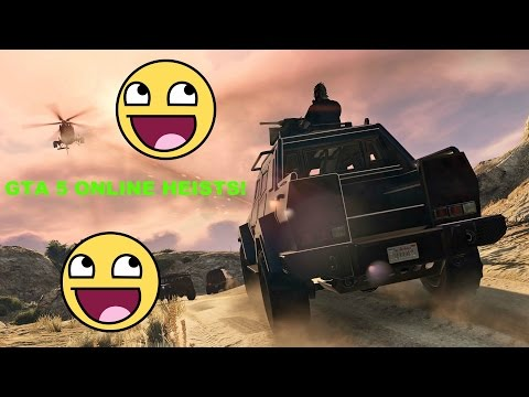 GTA 5 online: Pacific Standaard Job The Convoy (Fails and Funny Moments)