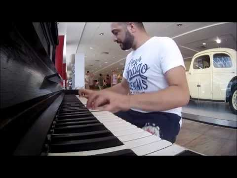 Pianos Around Europe Part 3 Prague Airport - Maan Hamadeh