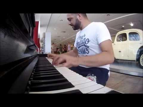Pianos Around Europe Part 3 Prague Airport - Maan Hamadeh