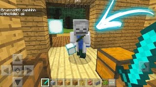 INVADI O MUNDO DO INSCRITO E ELE ME PEDIU EM NAMORO NO MINECRAFT POCKET EDITION !